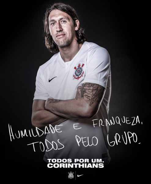 Camiseta titular 2018/19 del Corinthians | Imagen Nike