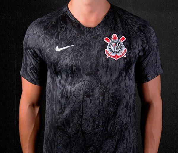 Camiseta suplente 2018/19 del Corinthians | Imagen Nike