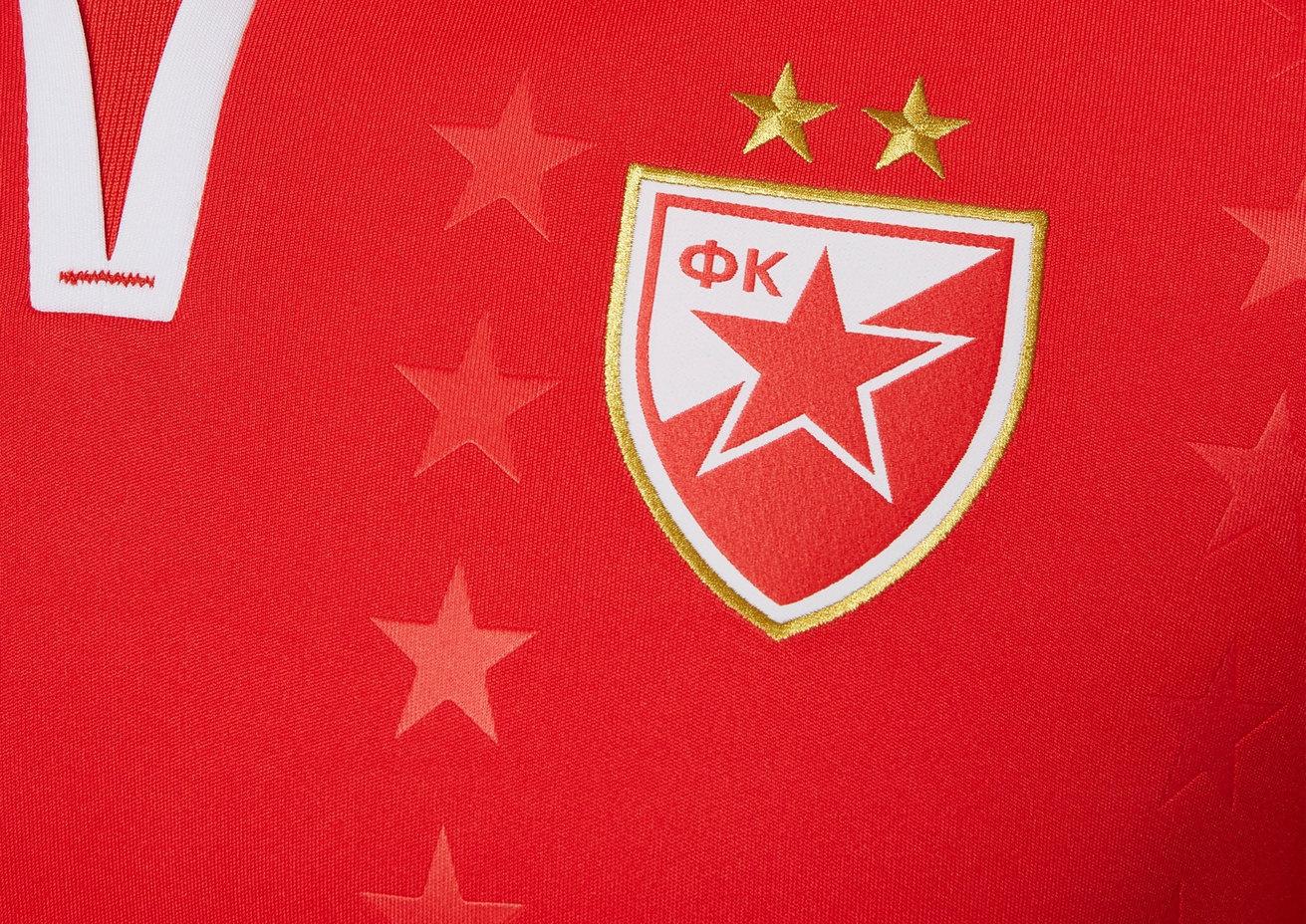 Tercera camiseta 2018/19 del Estrella Roja de Belgrado | Imagen Web Oficial
