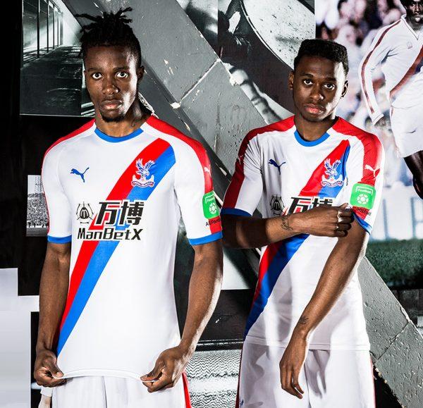 Camiseta suplente Puma 2018/19 del Crystal Palace | Foto Web Oficial