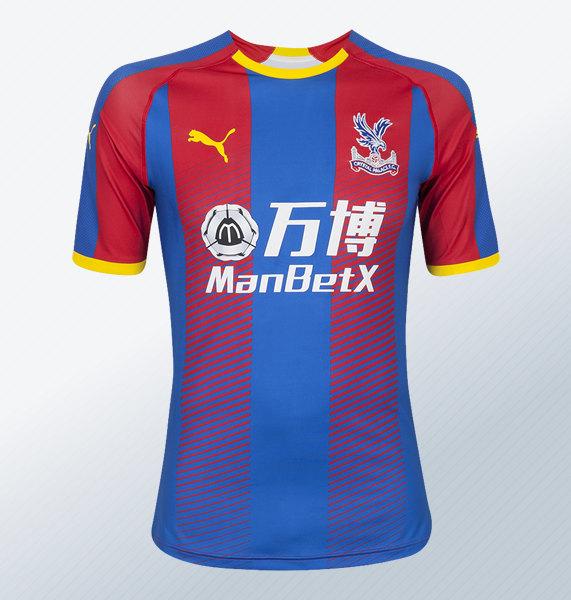 Camiseta titular Puma 2018/19 del Crystal Palace | Foto Web Oficial