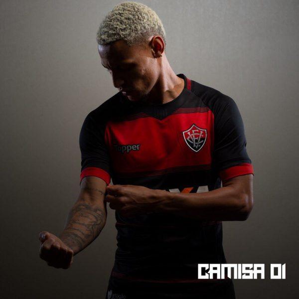 Camiseta titular del EC Vitória 2018-19 | Imagen Web Oficial