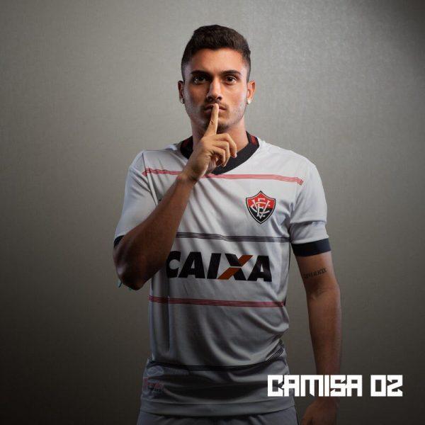 Camiseta suplente del EC Vitória 2018-19 | Imagen Web Oficial