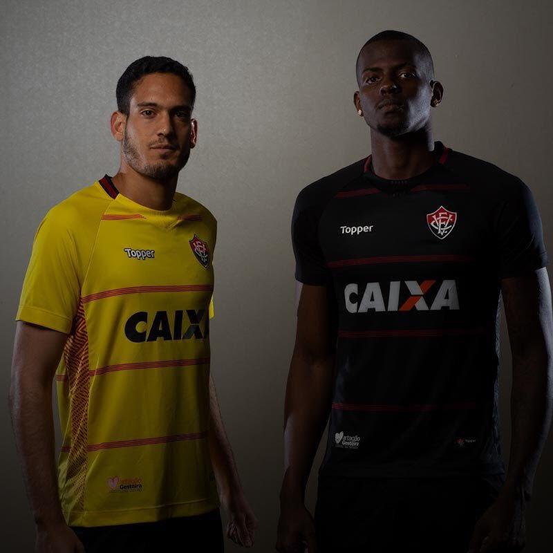 Camisetas de arquero del EC Vitória 2018-19 | Imagen Web Oficial