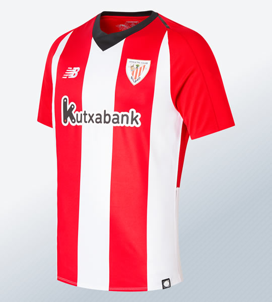Camiseta titular 2018/19 del Athletic Bilbao   Imagen New Balance