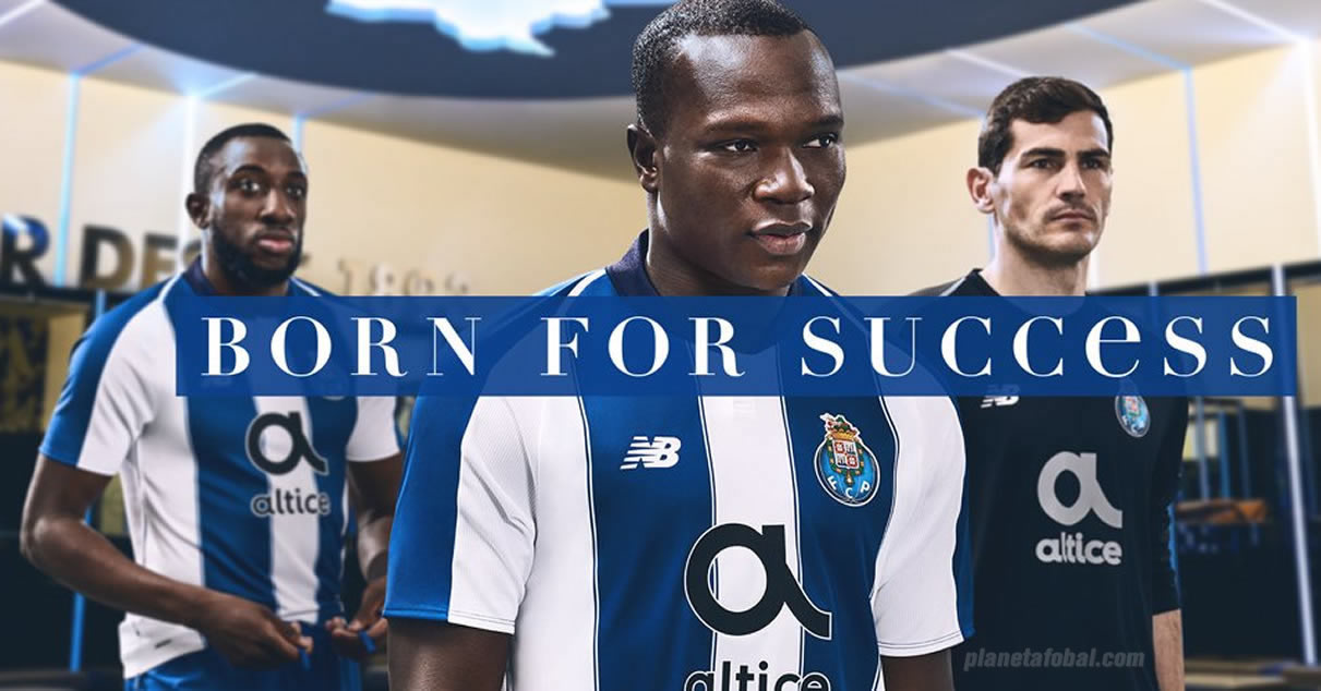 Camiseta titular 2018/19 del FC Porto   Imagen New Balance