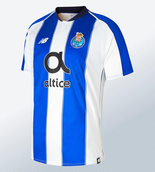 Camiseta titular 2018/19 del FC Porto | Imagen New Balance