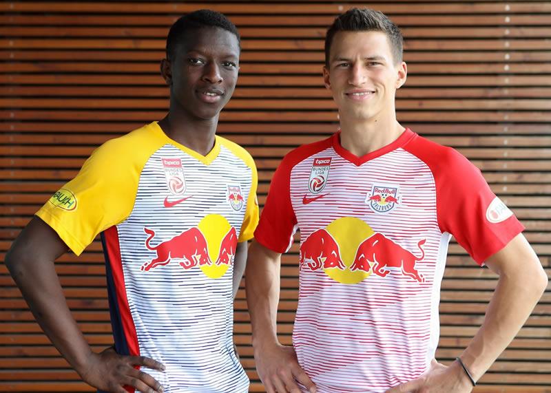 Camisetas Nike 2018/19 del Red Bull Salzburg | Imagen Facebook Oficial
