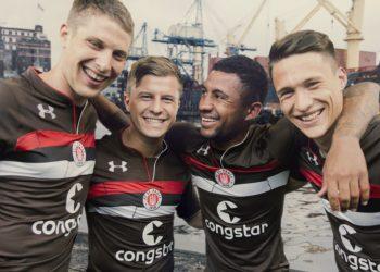Camiseta titular Under Armour del FC St. Pauli 2018/19 | Imagen Web Oficial
