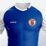 Camiseta titular de Haití 2018/19   Imagen Saeta