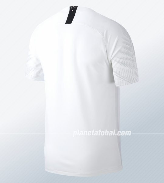 Camiseta titular 2018/19 de Nueva Zelanda   Foto Nike