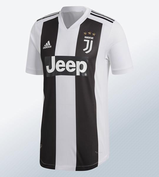 Camiseta titular 2018/19 de la Juventus | Imagen Adidas