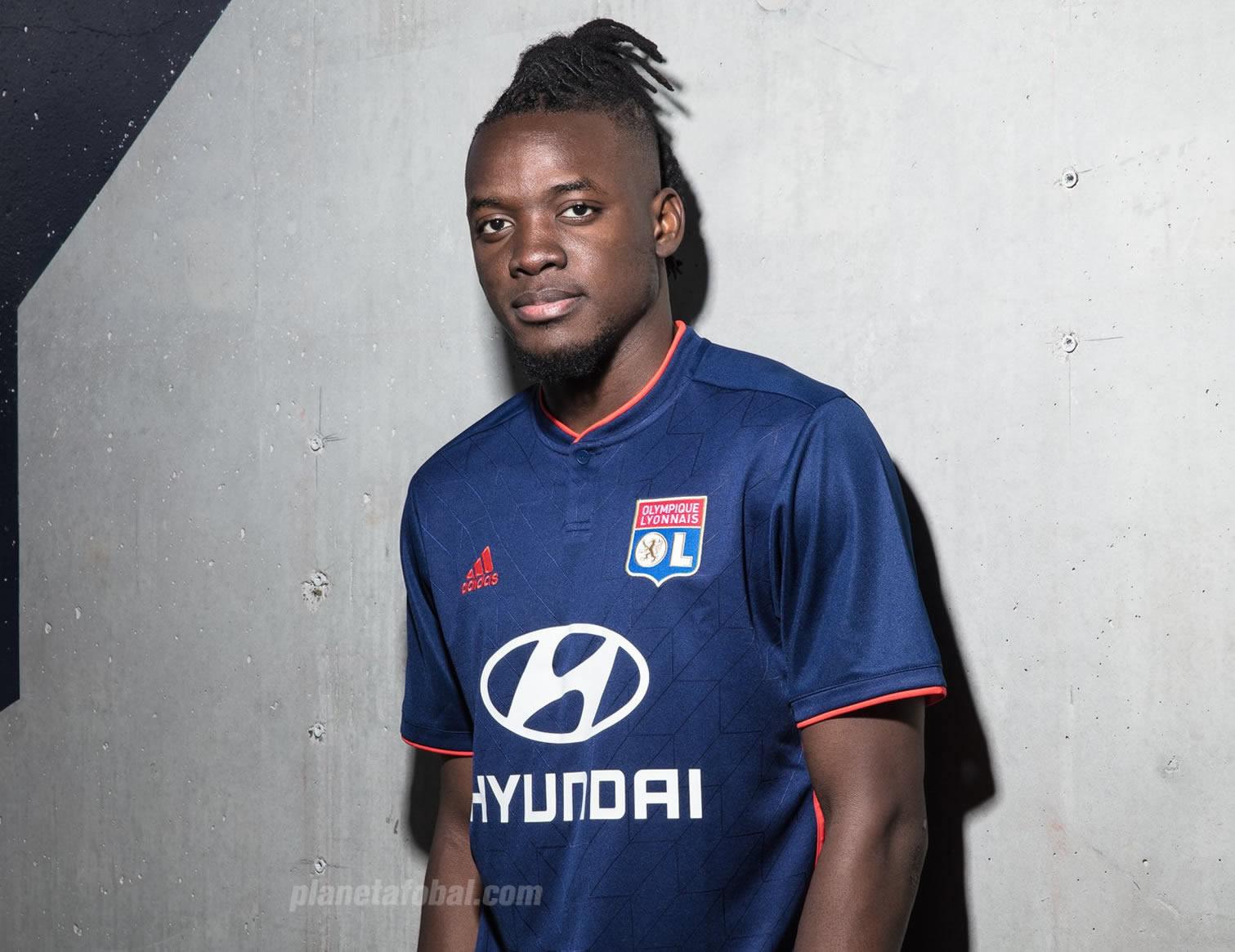 Camiseta suplente Adidas del Lyon 2018/19 | Imagen Web Oficial