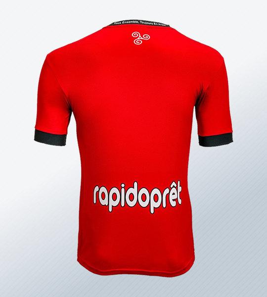 Camiseta titular Patrick del EA Guingamp 2018/19 | Imagen Web Oficial