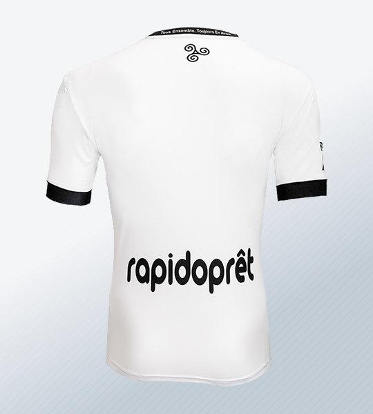 Camiseta alternativa blanca Patrick del EA Guingamp 2018/19 | Imagen Web Oficial