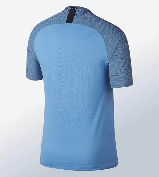 Camiseta titular 2018/19 del Manchester City | Imagen Nike