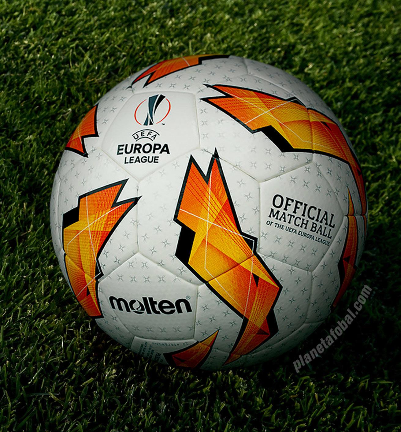 Balón oficial Molten para la Europa League 2018 19  d0d8c059cadd0