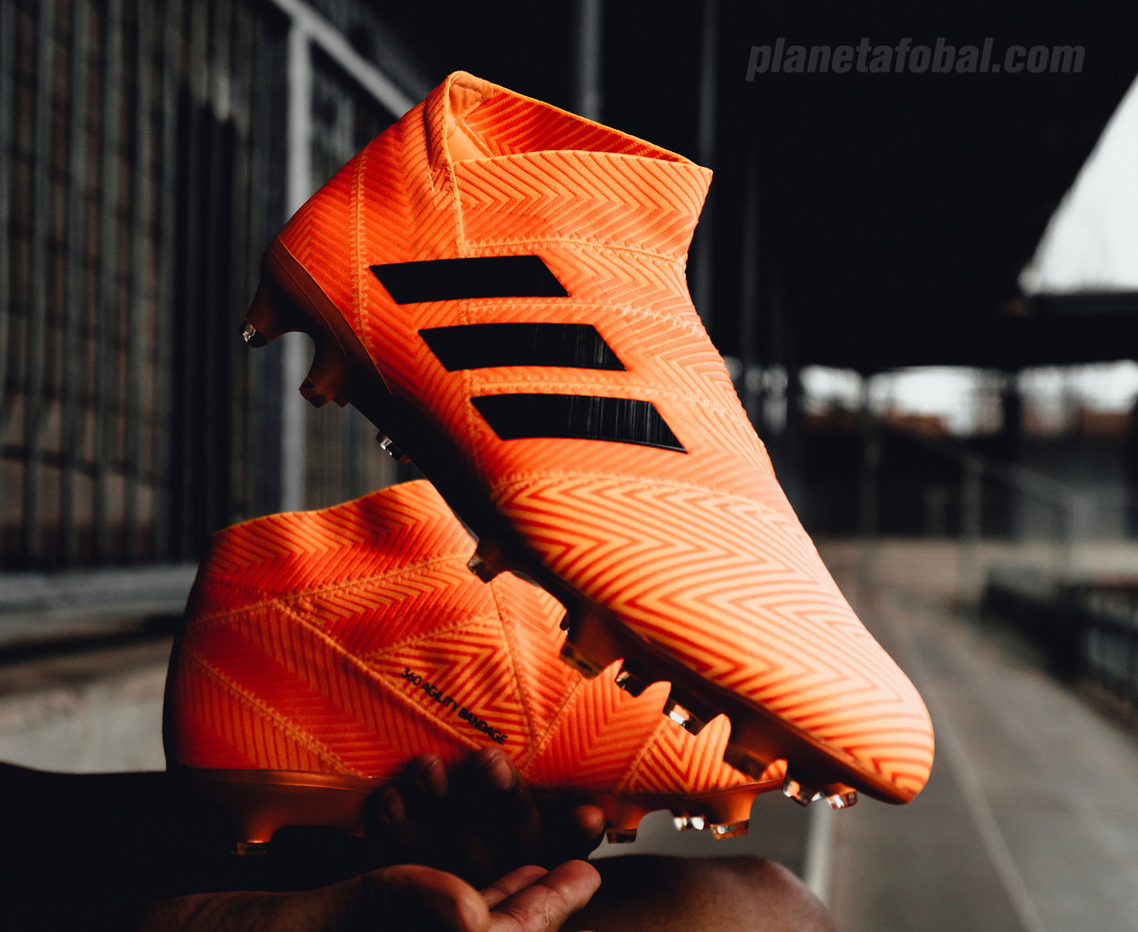 "Botines Nemeziz ""Energy Mode"" | Foto Adidas"