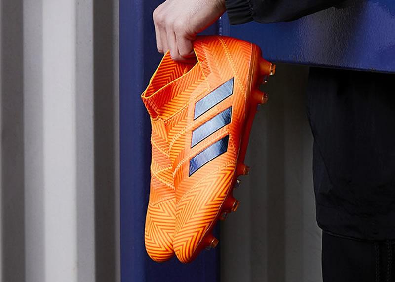 "Botines Nemeziz ""Energy Mode""   Foto Adidas"