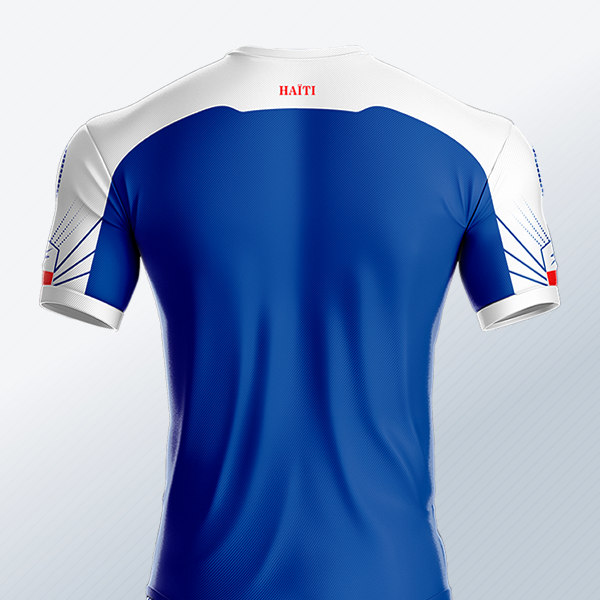 Camiseta titular de Haití 2018/19 | Imagen Saeta