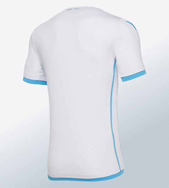 Camiseta suplente 2018/19 de San Marino | Imagen Macron