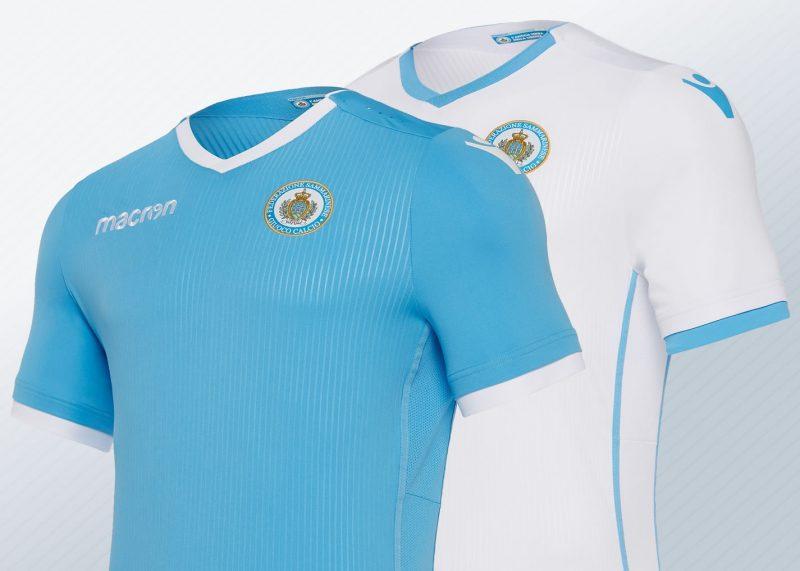 Camisetas de San Marino 2018/19 | Imágenes Macron