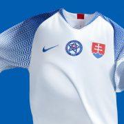 Camiseta titular de Eslovaquia   Imagen Nike