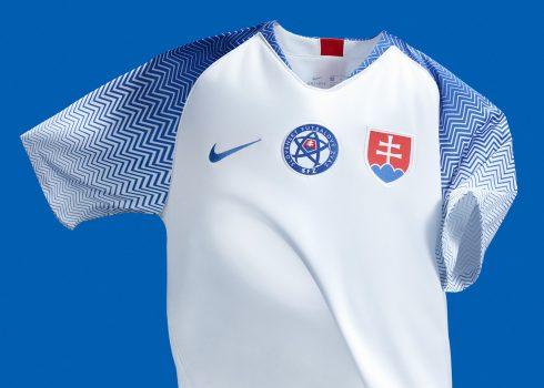 Camiseta titular de Eslovaquia | Imagen Nike