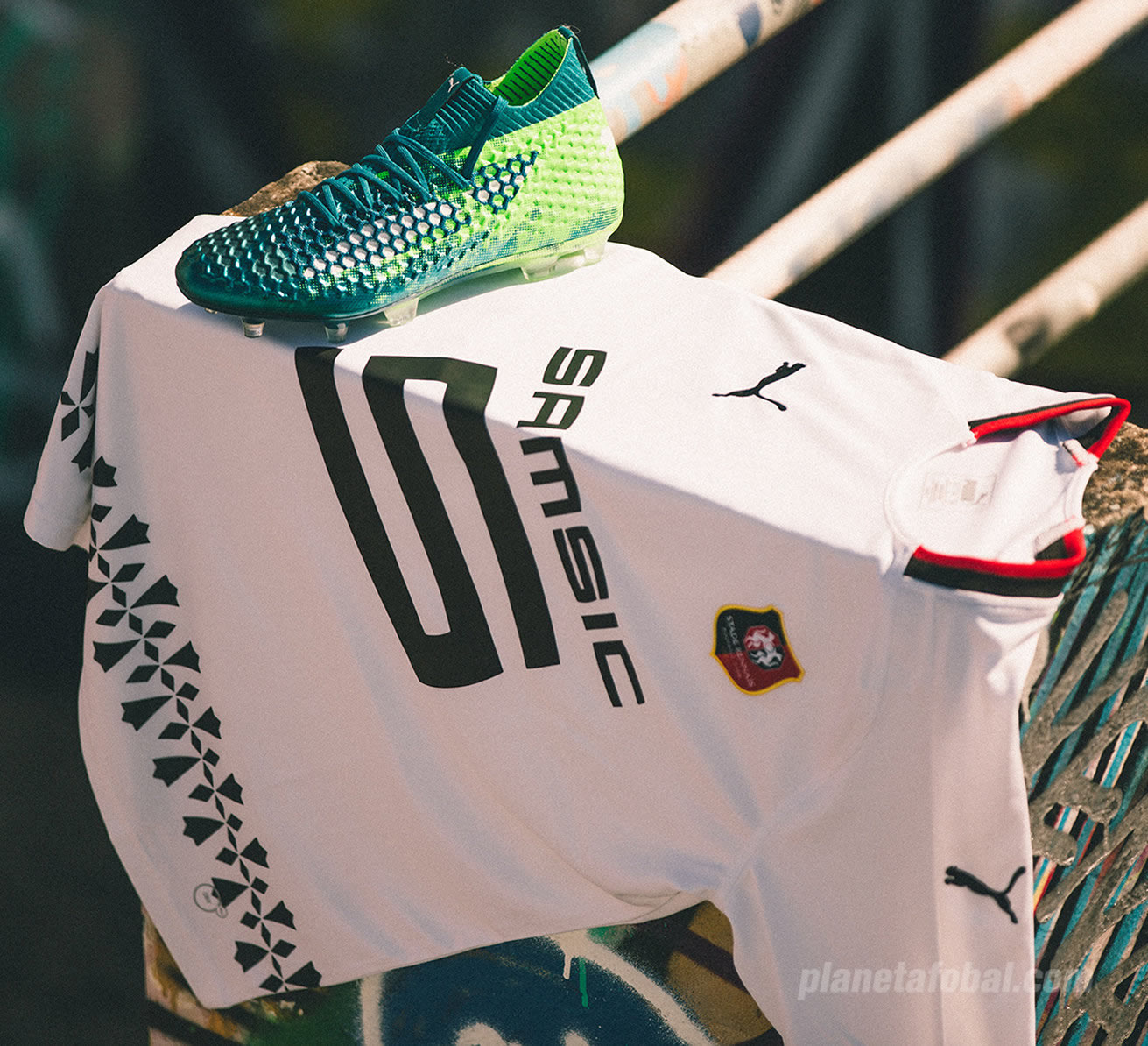 Camiseta suplente Puma del Stade Rennais 2018/19 | Imagen Web Oficial