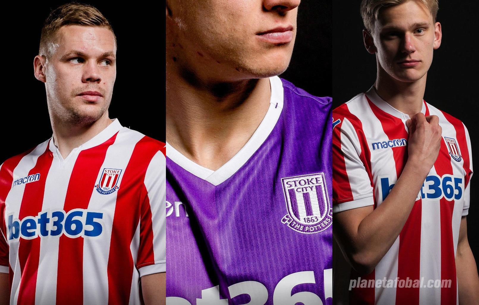 Camisetas del Stoke City 2018/19 | Imagen Web Oficial