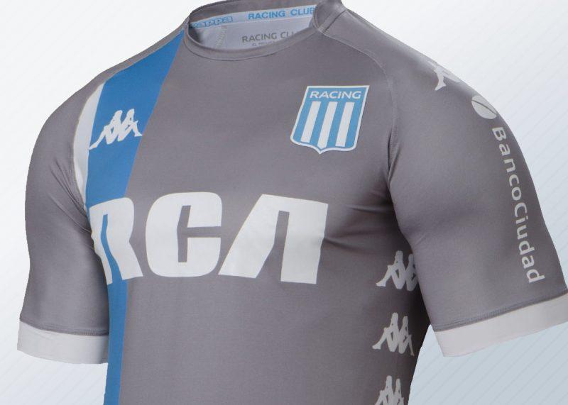 Tercera camiseta Kappa de Racing | Imagen Web Oficial