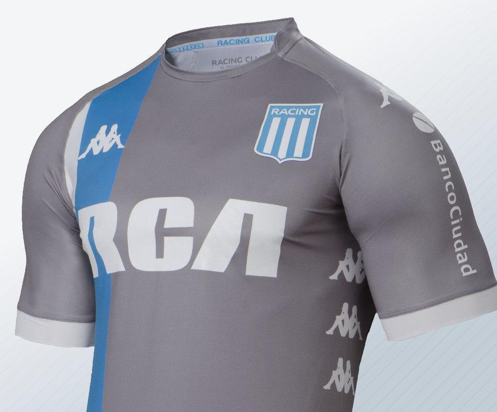 Tercera camiseta Kappa de Racing   Imagen Web Oficial