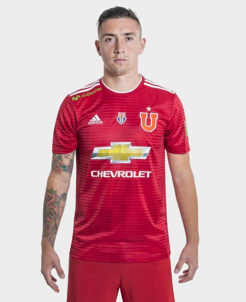 Camiseta suplente de la U de Chile | Imagen Adidas