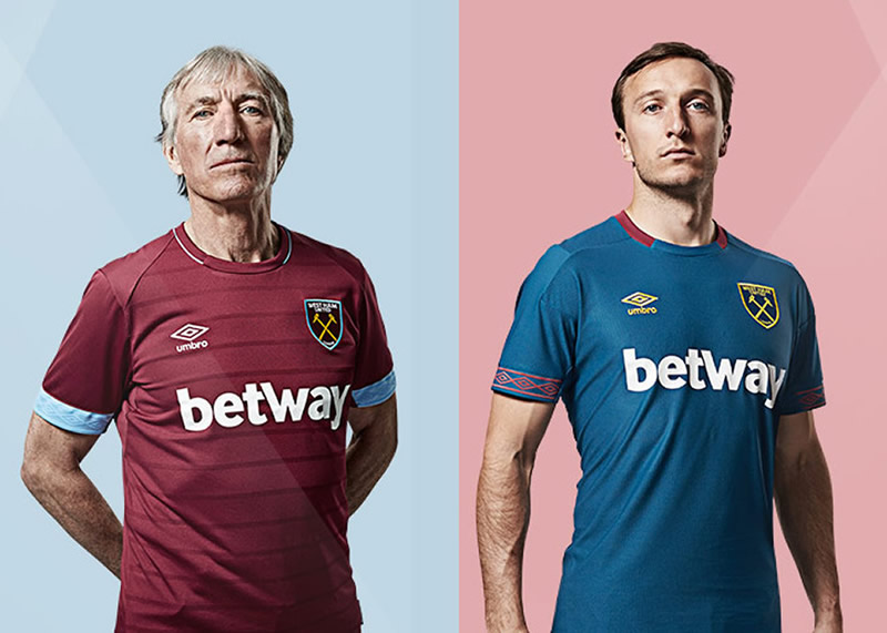 Camisetas Umbro del West Ham United | Imagen Web Oficial