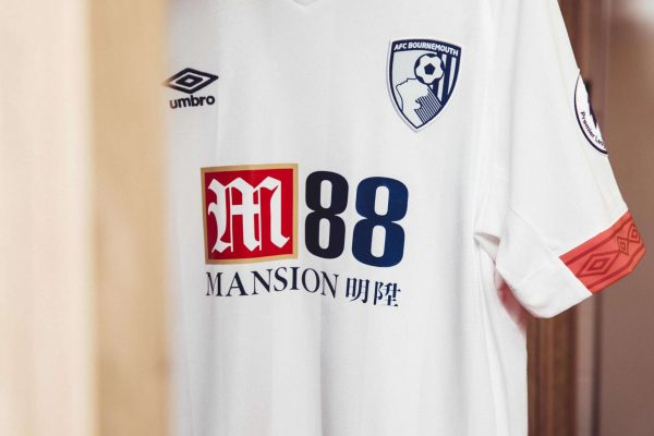 Camiseta suplente Umbro 2018/19 del Bournemouth | Foto Web Oficial