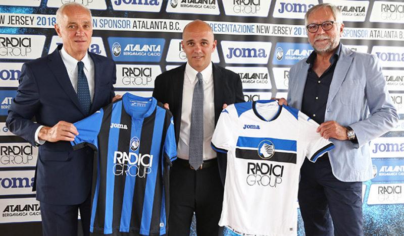 Camisetas del Atalanta | Imagen Web Oficial