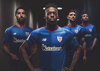 Camiseta suplente New Balance del Athletic Club 2018/19 | Imagen Web Oficial