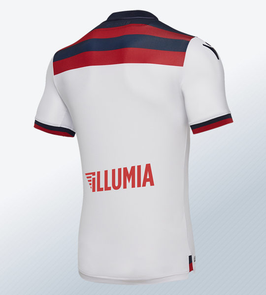 Camiseta suplente 2018/19 del Bologna | Imagen Macron