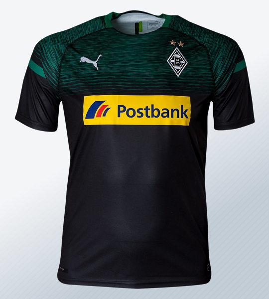 Camiseta suplente Puma del Borussia Mönchengladbach 2018/19 | Imagen Web Oficial
