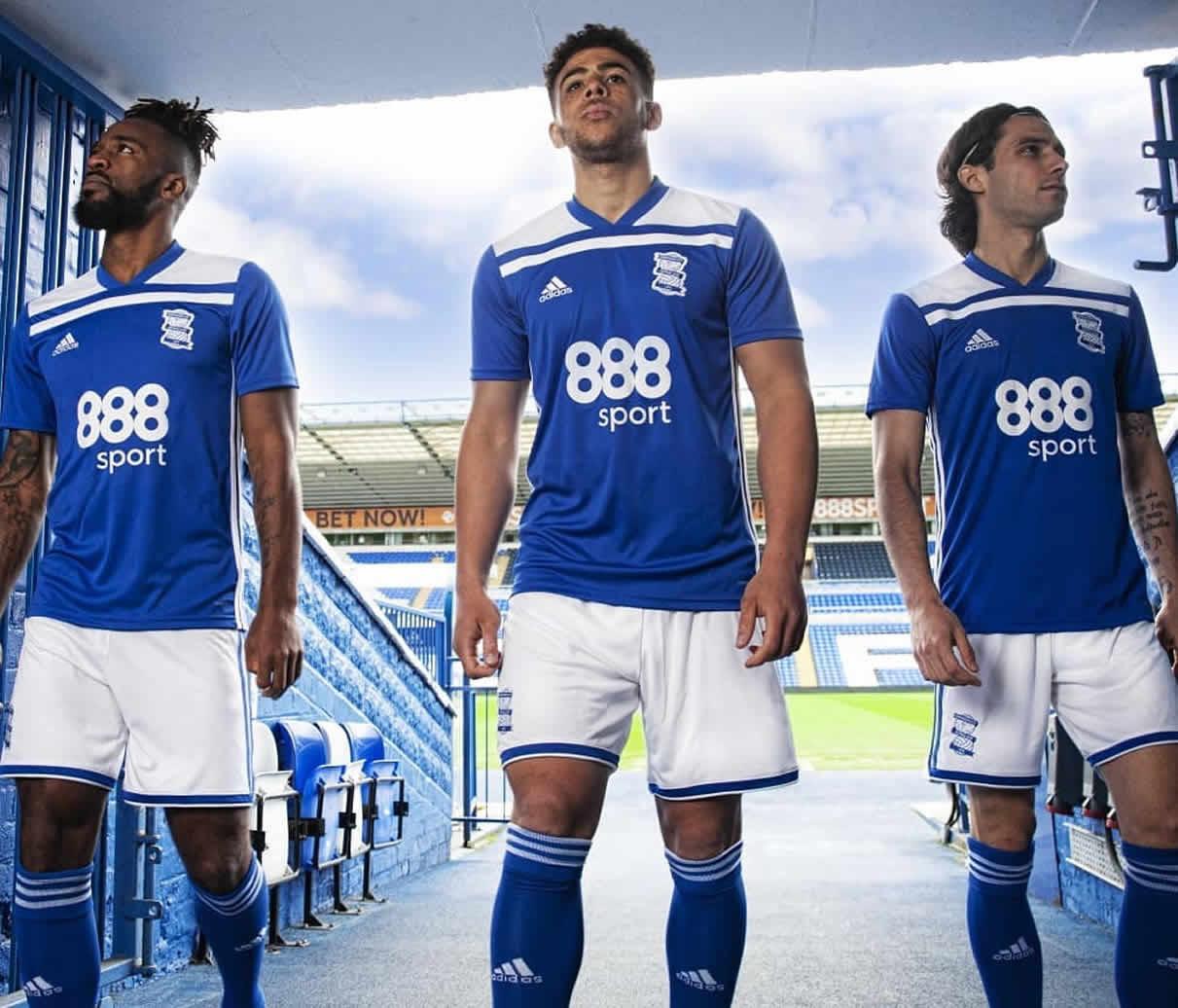 Camiseta titular Adidas del Birmingham City | Imagen Web Oficial