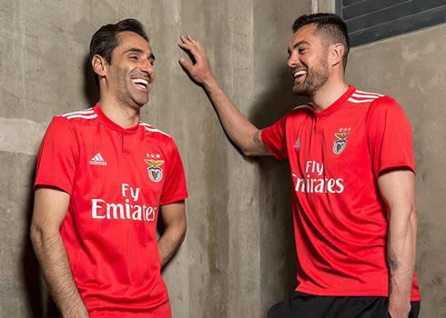 Camiseta titular 2018/19 del Benfica | Imagen Web Oficial