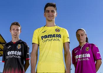 Camisetas Joma 2018/19 del Villarreal CF | Imagen Web Oficial