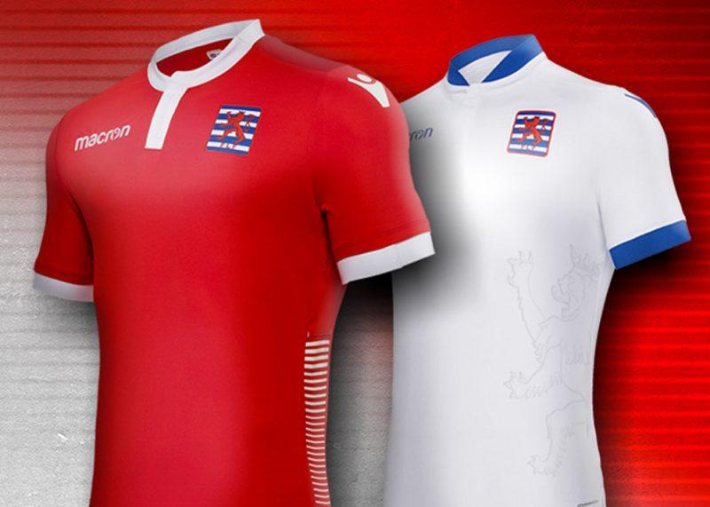 Camisetas de Luxemburgo 2018/19 | Imagen Macron