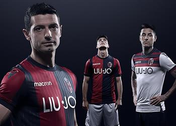 Camisetas 2018/19 del Bologna | Imagen Web Oficial