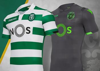 Camisetas del Sporting de Lisboa | Imagen Macron