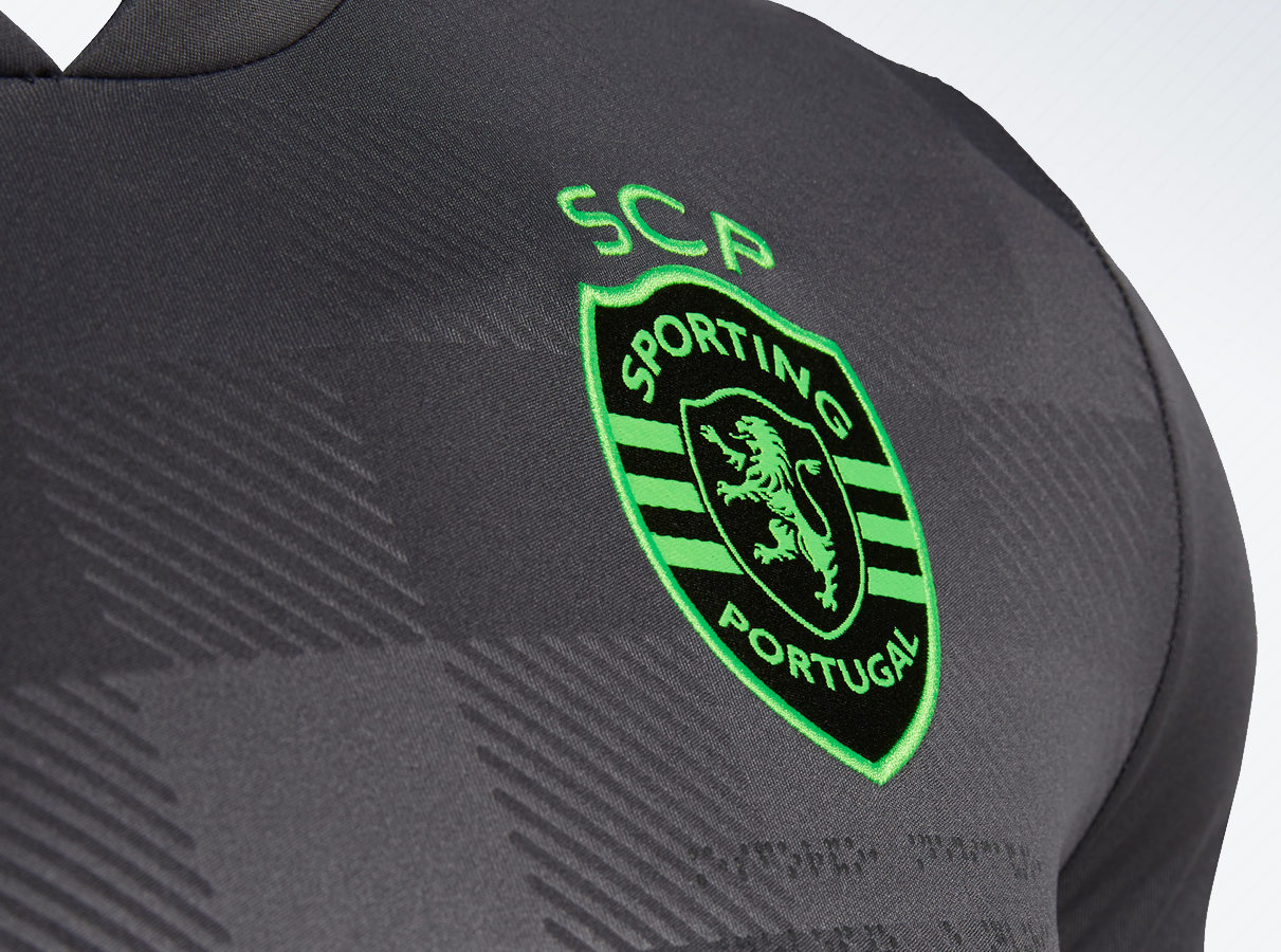 Camiseta suplente del Sporting de Lisboa | Imagen Macron