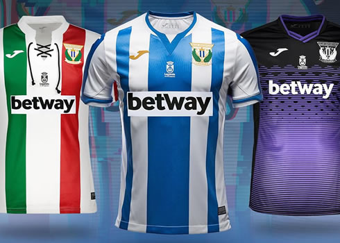Camisetas 2018/19 del Leganés | Imagen Web Oficial