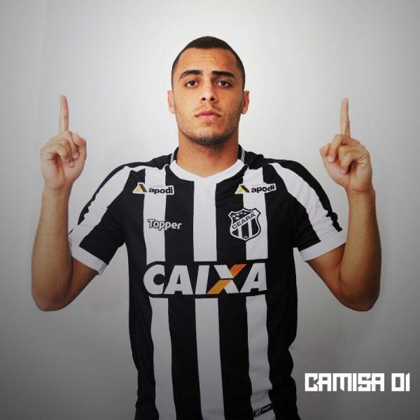 Camiseta titular 2018/19 del Ceará SC | Imagen Topper