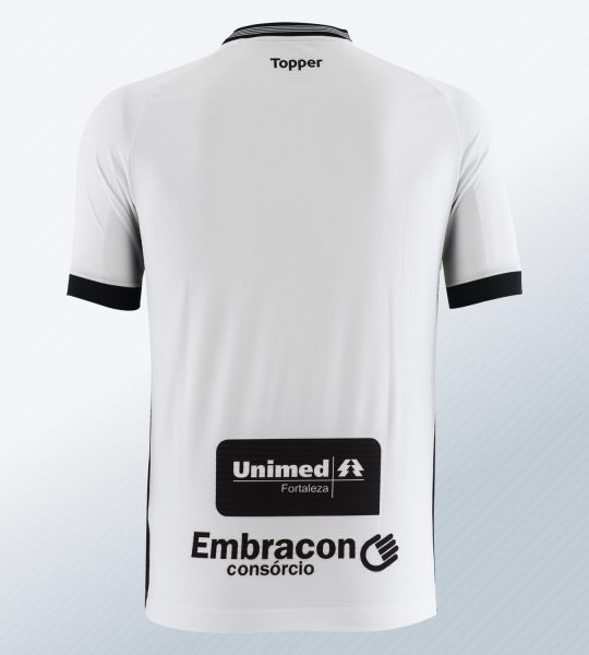 Camiseta suplente 2018/19 del Ceará SC | Imagen Topper