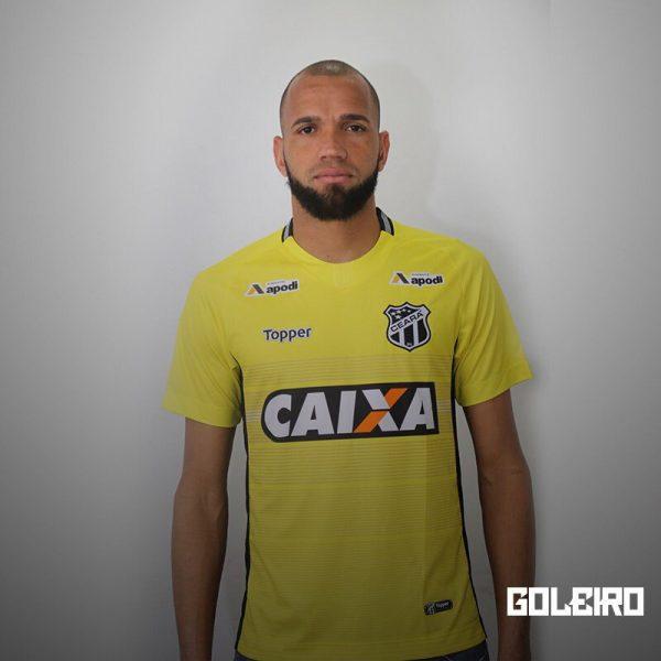Camiseta de arquero 2018/19 del Ceará SC | Imagen Topper